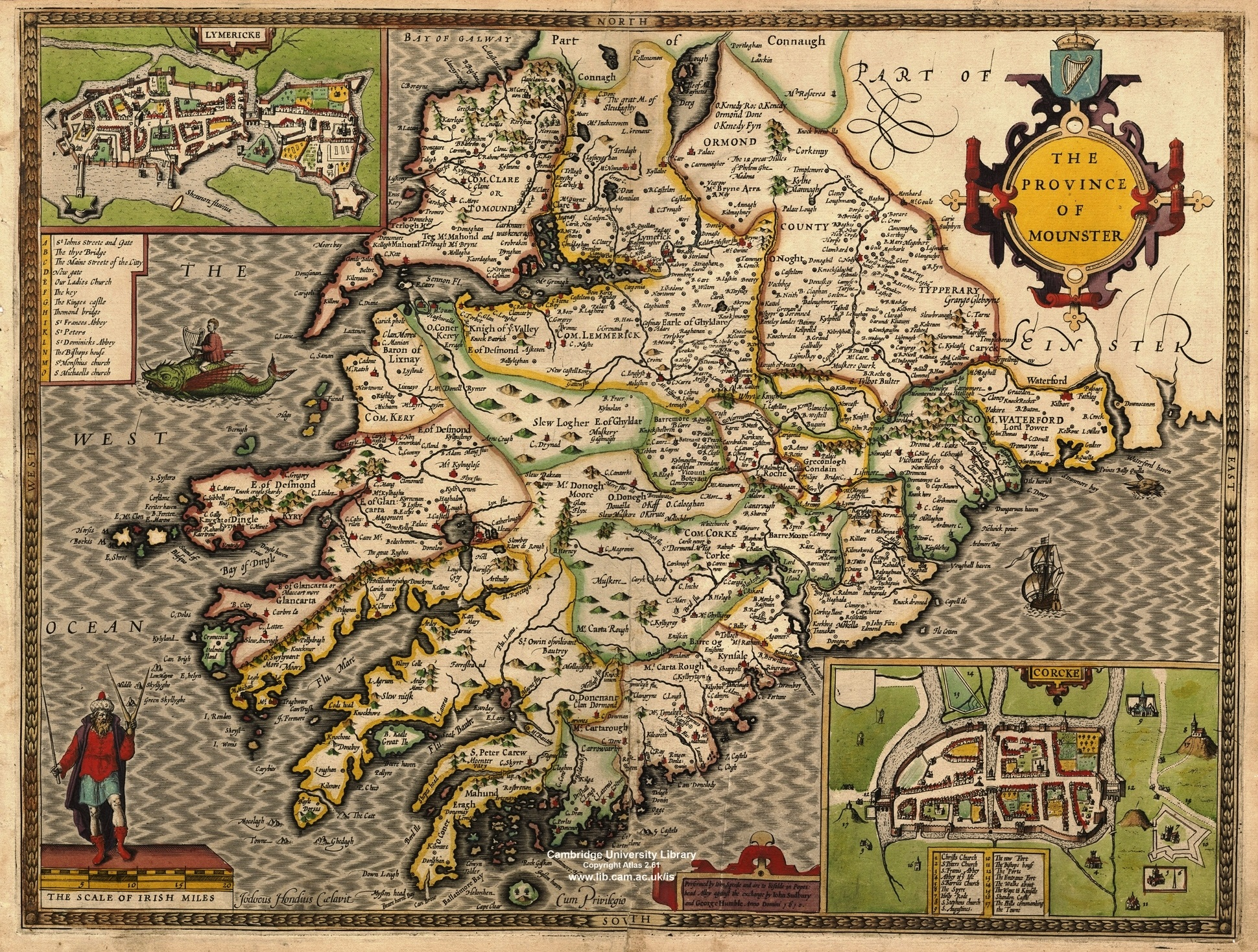 Maps and atlases of ireland taylor and skinners maps of the roads of ireland 1783 p w joyce county cork baronies ca 1905 gumiabroncs Image collections